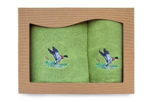Ręczniki bawełniane - kpl 2 szt. - Kaczka[72/2/KA]