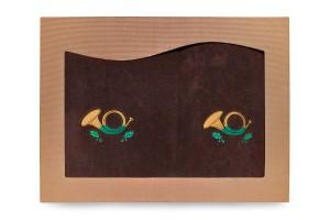 Ręczniki bawełniane-kpl 2 szt.-Sygnałówka[72/2/S]